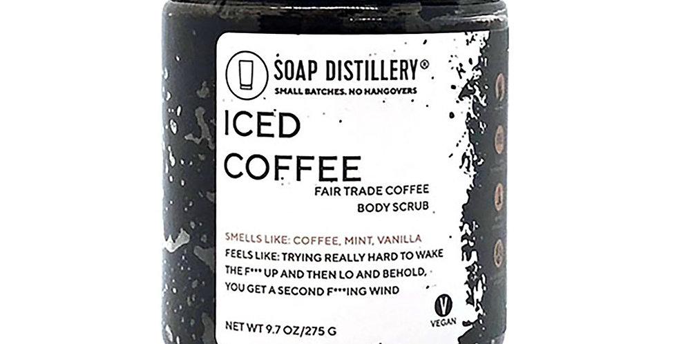 Iced Coffee Body Scrub (raw cane sugar)