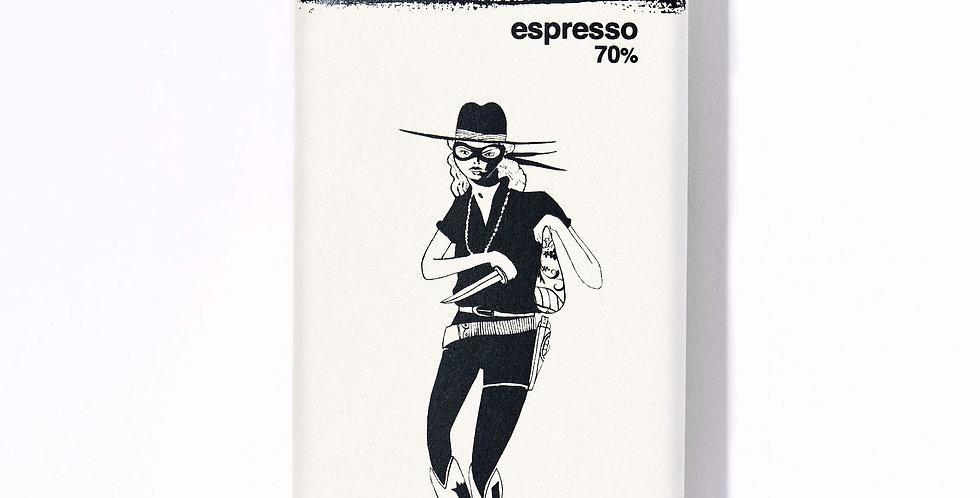 Espresso Chocolate Bar (70% cacao)