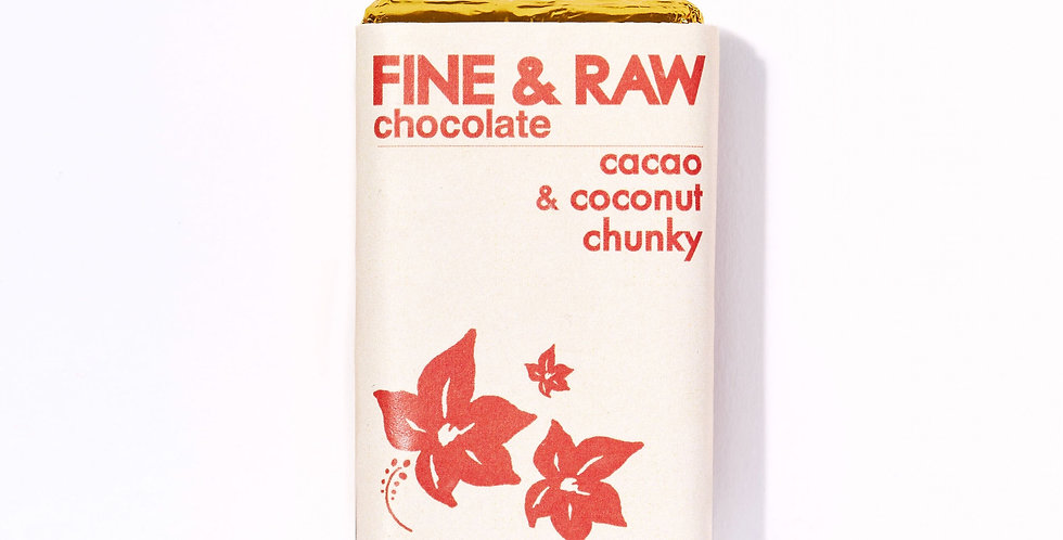 Cacao and Coconut Chunky Chocolate
