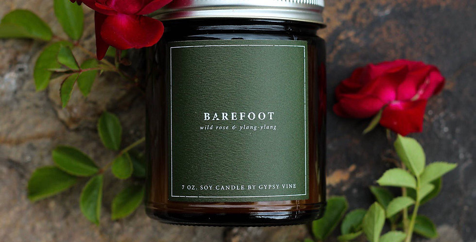 Barefoot Soy Candle