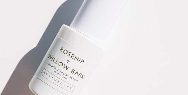 Rosehip + Willow Bark Vitamin C Facial Serum