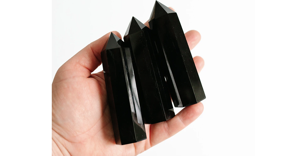 Black Obsidian Point