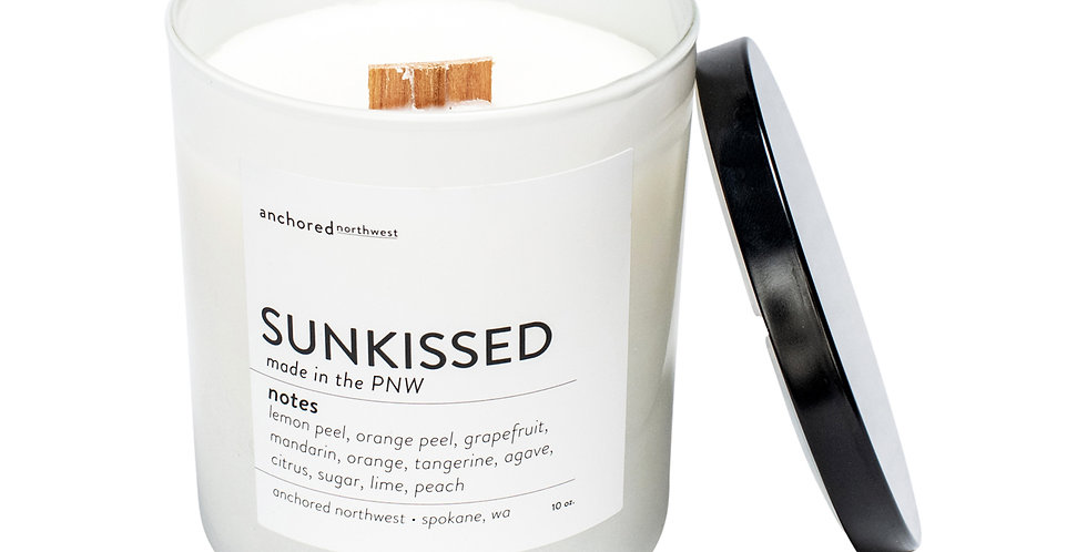 Sunkissed White Tumbler Candle