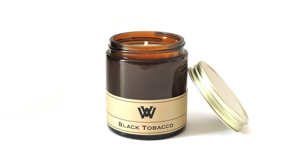 Black Tobacco Soy Candle