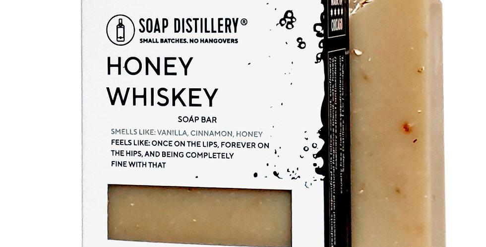 Honey Whiskey Soap Bar