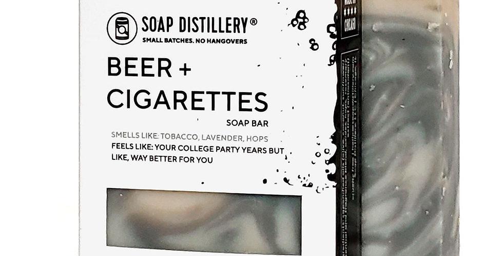 Beer + Cigarettes Soap Bar