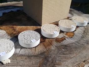 Hot mix lime mortars: ArchiWest Design Studio