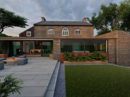 The Ferns, GVII Listed Farmhouse, Draycott