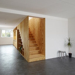 Stairs integrated