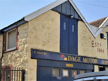 DAGE Motor Services Workshop Extension,   W-S-M