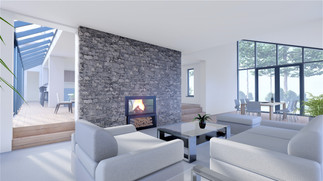 Interior render - Lounge