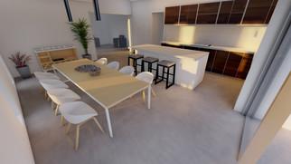 Interior render - Dining