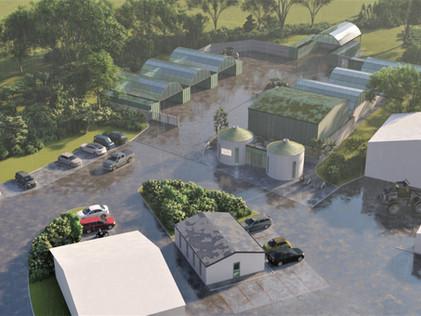 Industrial park redevelopment, Somerset