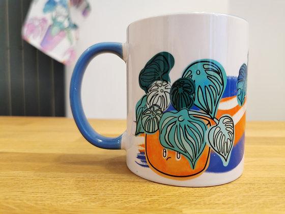 House plant addict mug