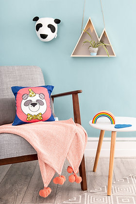 Panda cushion for kids bedroom