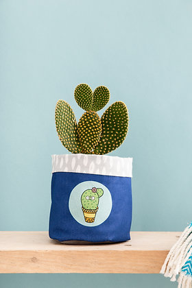 Fabric Cactus plant pot cover