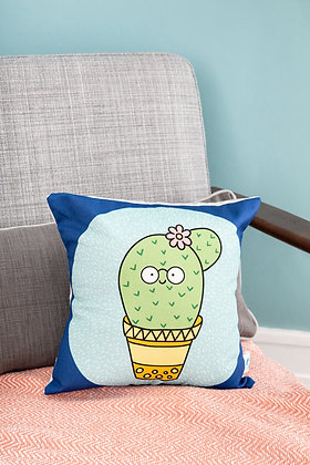 Cactus plant pillow for plant lovers