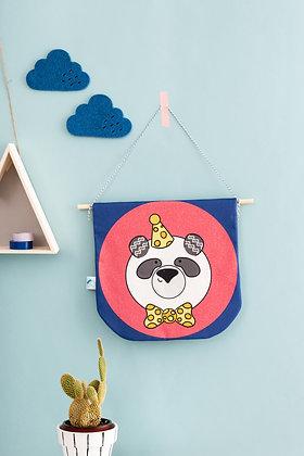 SECONDS Fabric panda banner