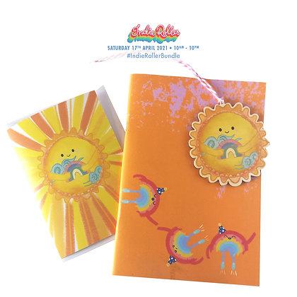 Rainbow notebook bundle