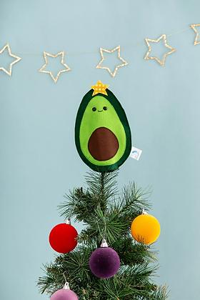 Avocado Christmas tree topper