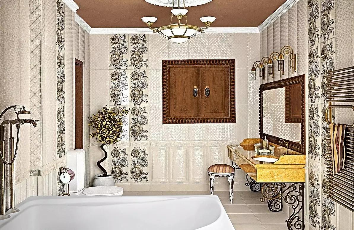 3D визуализация. Классическая ванная