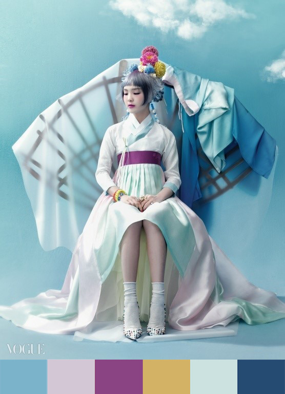 Like Alice in Wonderland, So-Hee, a girl who performs Korean traditional music, is in a fairy tale.