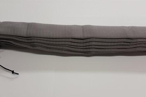 Housse protectrice grise jersey lavable pour flexible de 9 m.
