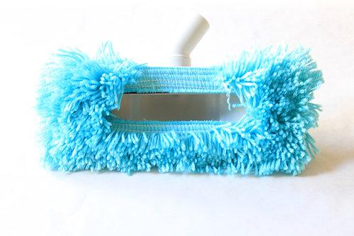 Brosse plumeau bleue