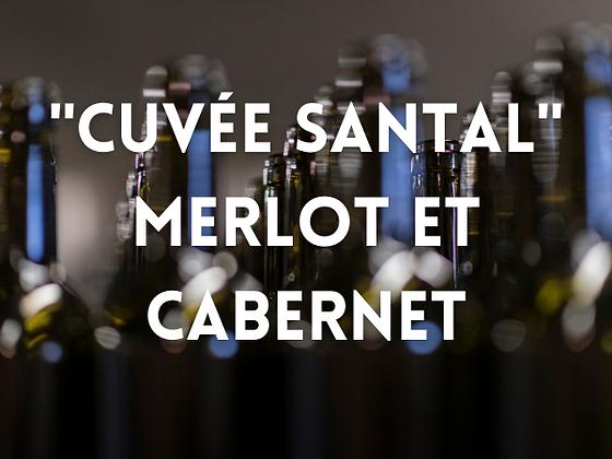 """""""Cuvée Santal"""" Merlot-Cabernet"""