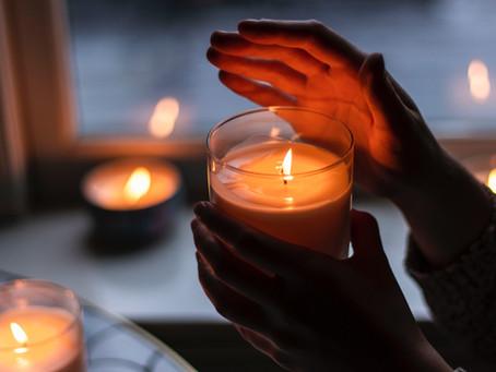 Le rituel de la bougie parfumée