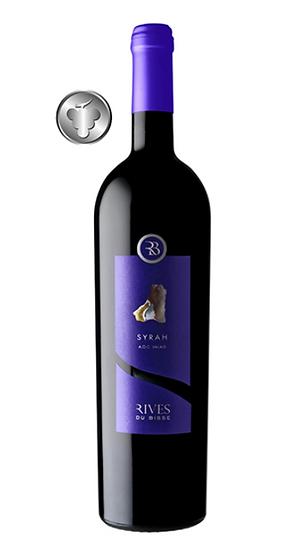 """Rives du Bisse - Syrah """"Les Prestiges"""" 12 bouteilles achetée + 6 offertes !"""
