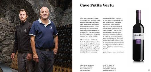 Cave Petite Vertu - Chamoson