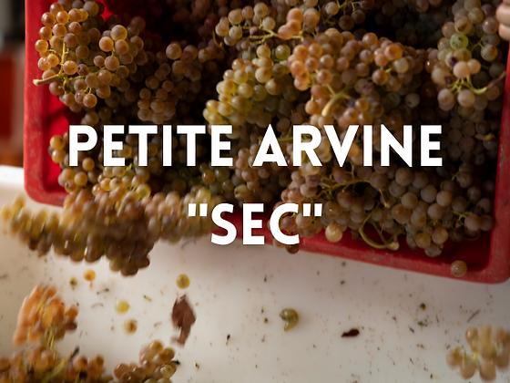 """Petite arvine """"sec"""""""