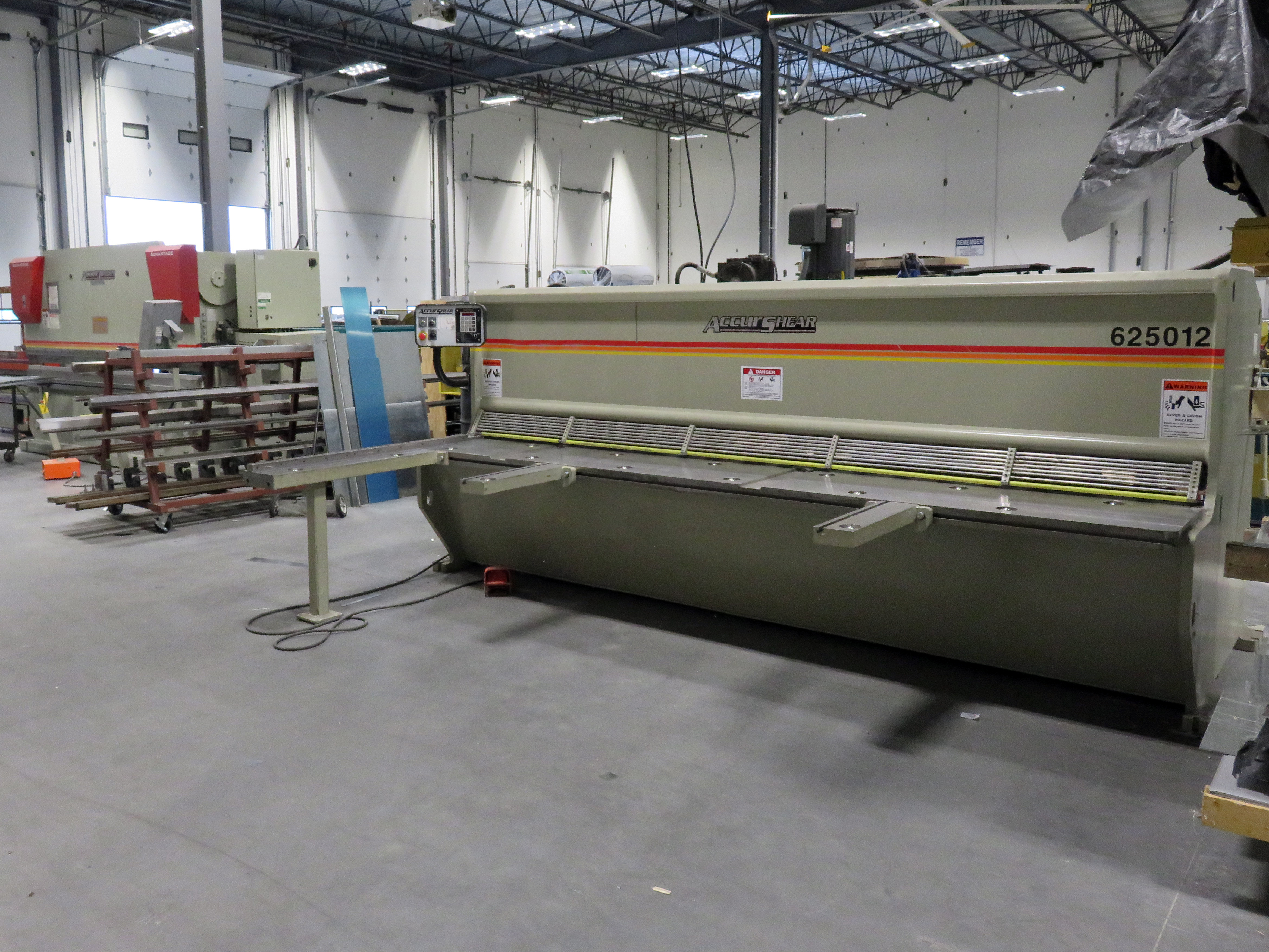 12'Accurpress and shear