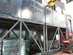 Telus 39,000lbs vertical silencers & stands