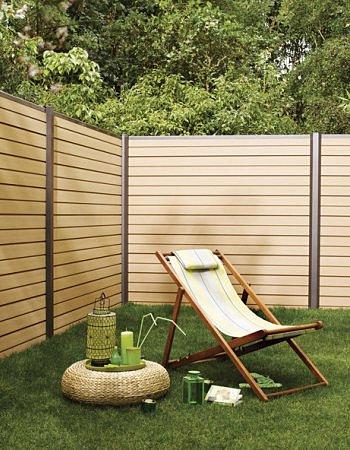 pose de cloture grillage panneaux brise vue des jardins. Black Bedroom Furniture Sets. Home Design Ideas