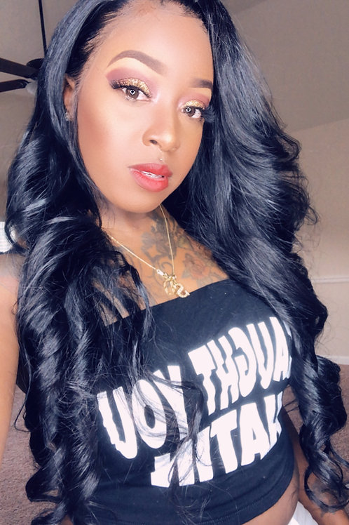 Sheree Unit Lace Front Wig (dyed black)