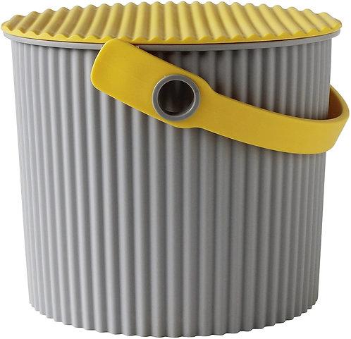 Hachiman Omnioutil - Bøtte mini 4L grå / gul
