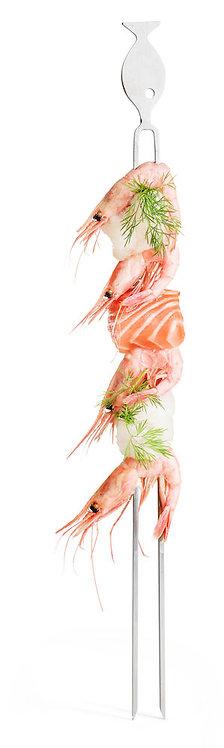 Sagaform - BBQ grillspyd fisk 4pk