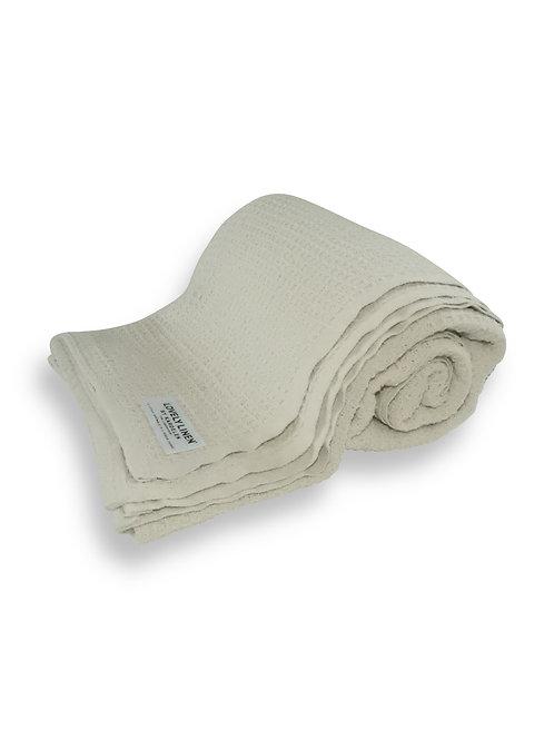 Lovely Linen - Lovely Cotton pledd offwhite