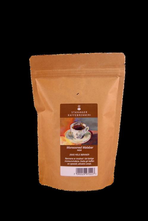 Stavanger Kaffebrenneri - India Monsooned Malabar 250g hele bønner