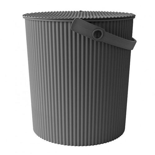 Hachiman Omnioutil - Bøtte stor 20L mørk grå