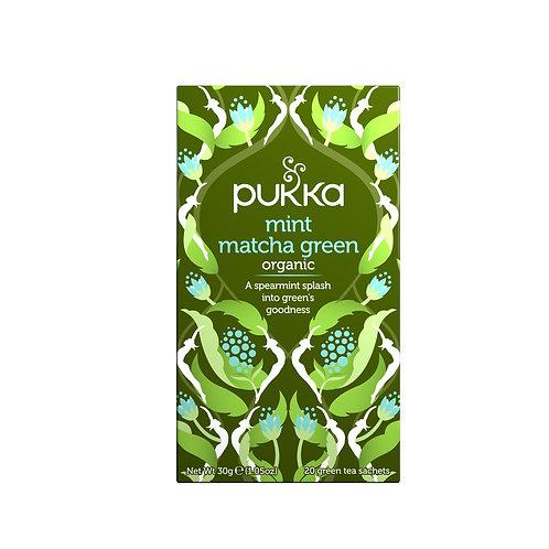 Pukka - Mint Matcha Green te