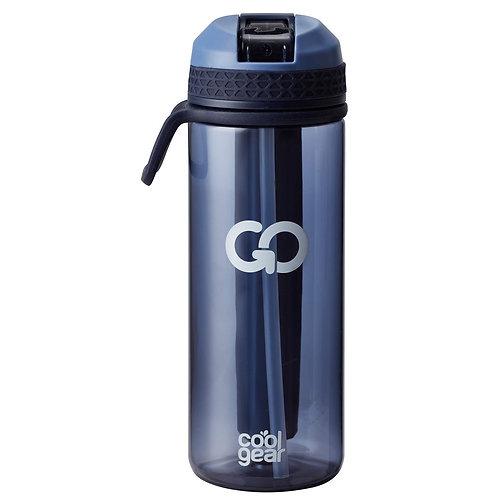 Coolgear - Go drikkeflaske m/ freezer gel 0,7L blå
