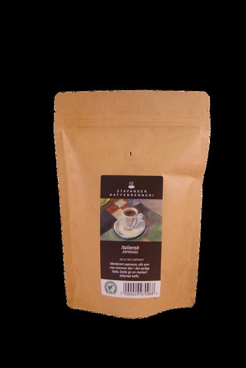 Stavanger Kaffebrenneri - Italiensk espresso 250g hele bønner