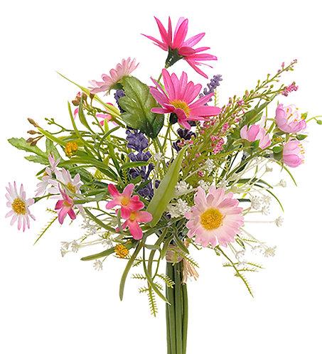 Mr. Plant - Kunstig bukett 20cm rosa