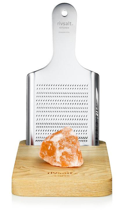 Rivsalt - Stort rivjern med Himalaya salt