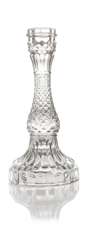 Borg - Lysestake glass 10x21cm