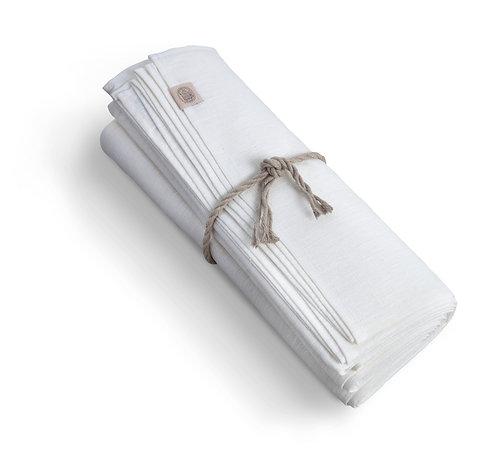Lovely Linen - Duk lin classic 150x380cm White