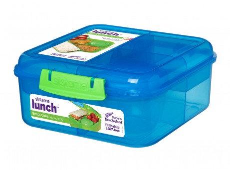 Sistema - Matboks bento cube lunch 1,2L assortert